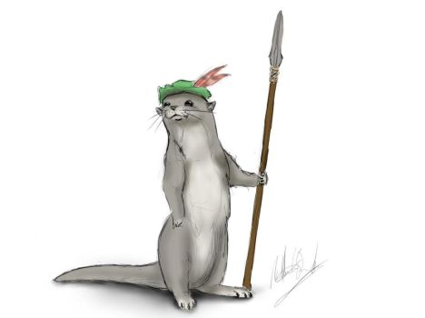 Otter inspired by redwall by cayleycom