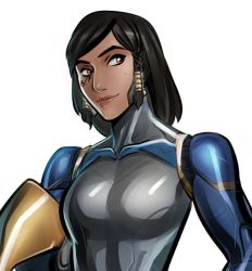 Cyper Pharah Because Why Not by Psuede