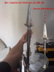 Spear of Leonidas By Creed of Divine and YasuS by Creed-of-Divine