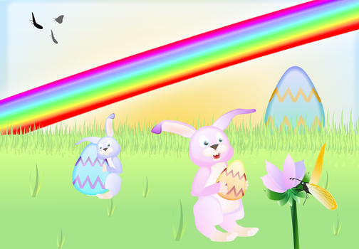 Happy Easter :D by Inkovic