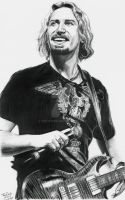 nickleback's chad kroeger by troydodd