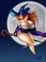 Sorceress By Deztyle by tisinrei