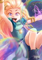 Zoe the aspect of twilight by Chobiotk