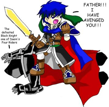 Ike the avenger by KimMcCloud