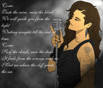 Elan- Floor Jansen by A-Fistful-Of-Kittens