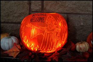 Frollo Pumpkin 2017 by CyberRaven