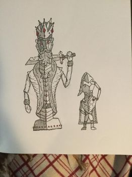 King Piece and Pawn by Doctoreye