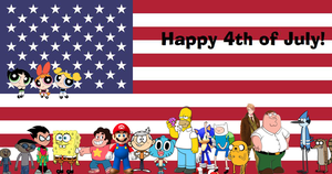Happy 4th of July Cover by Pichu8boy2Arts
