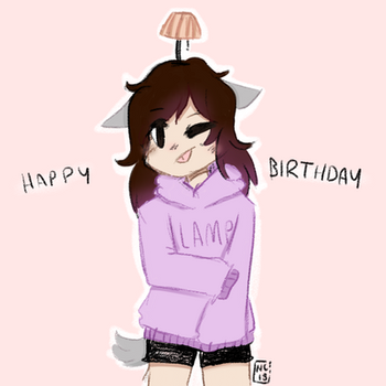 Happy bday sis  by Bluerabbit133