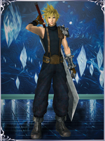 Dissidia NT - Cloud Strife (1st Class Soldier) by KylieStylish