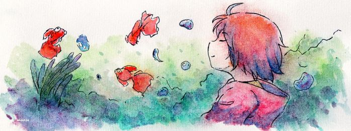 Goldfish by andch24