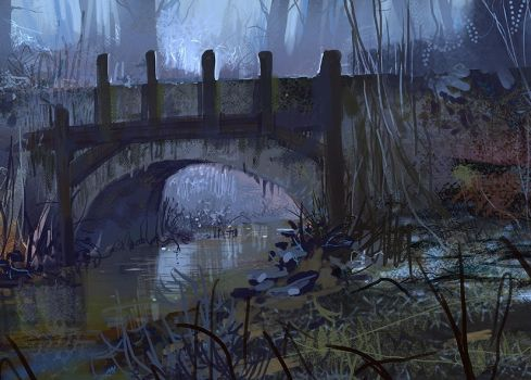 The Forgotten Bridge by CrysDF