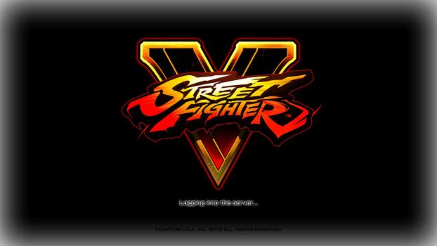 SFV Logo Splash Screen - Black (obsolete in AE) by robhal