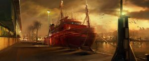 Port Vell Environment 02 by atomhawk