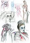 DR Sketchy October collection by EmiliAlys