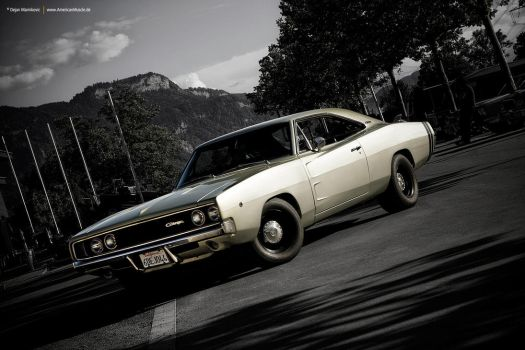 1968 Dodge Charger by AmericanMuscle