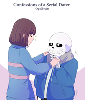 Undertale Frans fic cover by Shayromi