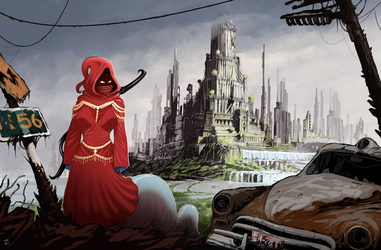 At the Edge of the Imperial City | Commission by Pino44io