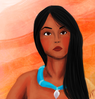 Pocahontas by ifroggirl