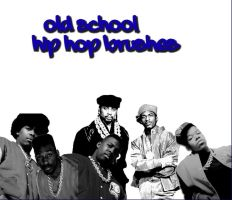 Old School hip hop brushes by Mika718