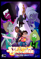 Steven Universe Chasing Diamonds by ZemongSandwich