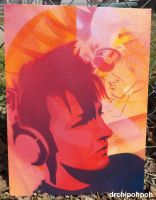 Headphone Stencil 01 by drchipohpoh