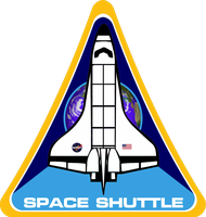 NASA Space Shuttle Insignia Modified by viperaviator