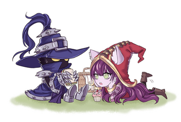 Veigar Lulu by S2PQ