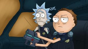 Rick And Morty by zerorick
