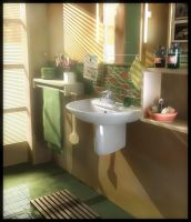 Afternoon In The Bathroom by pro2004