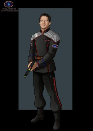 captain mitchel 'bagera' bowen by nightwing1975