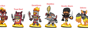 Skylanders Eris's League - Fire by JoltikLover