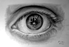 Detailed Eye Study by Gregor1992
