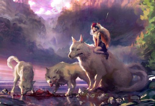 Mononoke by Miles-Johnston