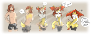 Braixen TF TG by Luxianne