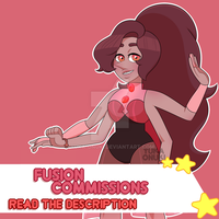 Fusion Commissions! [ PAYPAL AND POINTS / OPEN ] by YukaOnuki143