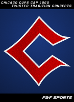 F F SPORTS Twisted Tradition -Chicago Cubs Logo by seanff