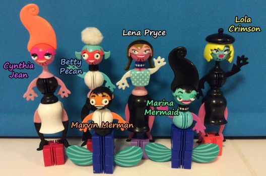New Ello Characters by TotallyDeviantLisa