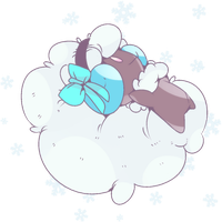 Shiny Ribbon Elfuun | Whimsicott Commission