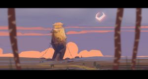background concept for a project of animation by DavidGau
