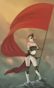 Flag Bearer by LEKKER