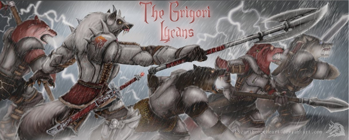 Lycans aka Werewolves~ The Grigori by TheGrigoriAnime
