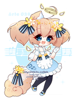 [ CLOSED ] 4-Day  Auction Valyrabbits Collab Aria! by Valyriana