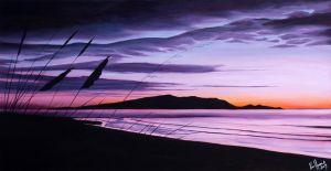 Kapiti in Violet by karlandrews