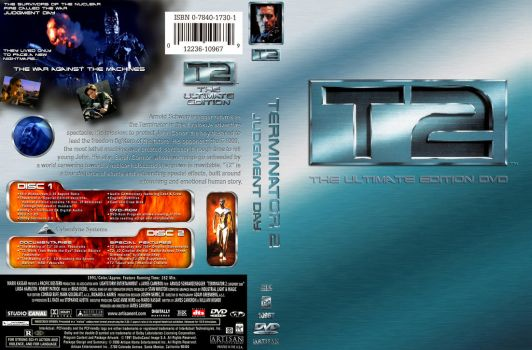 TERMINATOR 2 DVD Cover B by YoshioKun13