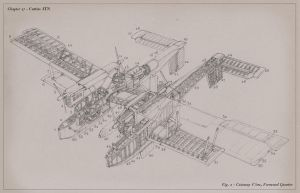 Curtiss JTN Rocket Bomber - Cutaway View by MikeDoscher