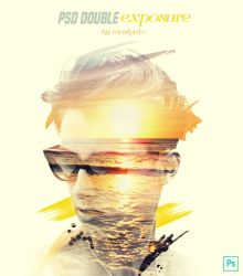 Psd Double Exposure free by mostpato