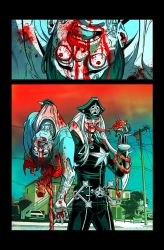DEATH METAL ZOMBIE COP: You're DONE, son... by FelipeSmith