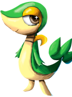 Snivy by Zoiby