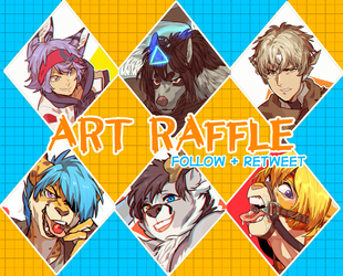 ART RAFFLE ON TWITTER! by Nerior
